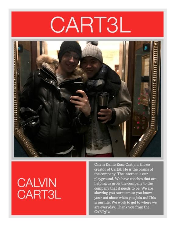 Calvin Cart3l