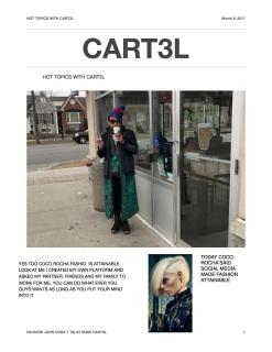 Hot topics with cart3l 1